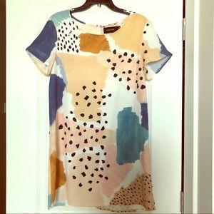 MINKPINK watercolor shift dress